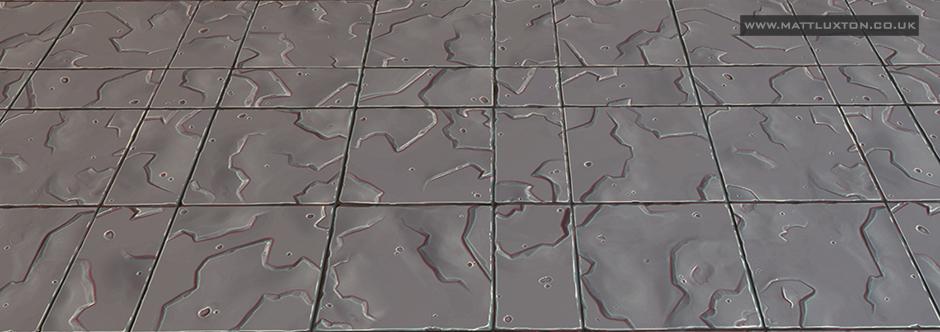 moonstone tiled